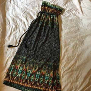 Modcloth The Beach Generation Maxi Dress, size M